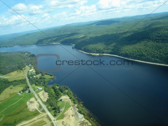 St Maurice river in quebec