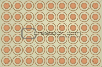 Abstract circle seamless vector background