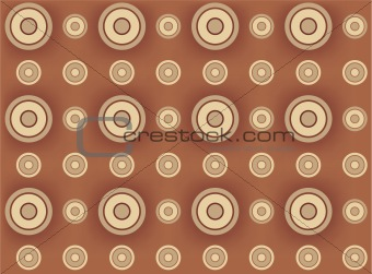 Abstract circle vector seamless background