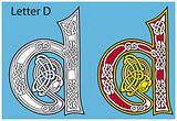 Ancient Celtic alphabet (26 letters)