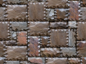 Stony wall seamless pattern.