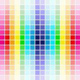 palette rainbow colors