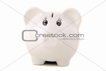 Small porcelain pig