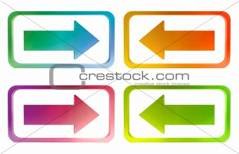 Four bright arrows