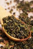 dry green tea 