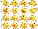 Square smiles