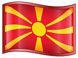 Macedonia Flag icon.