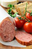 Fresh sausage platter