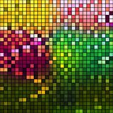 Color Mosaic Background