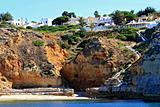 Wonderful cliff beach at Carvoeiro