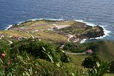 Saba island in the Caribbean