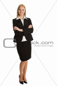 Beautiful sucessful businesswoman