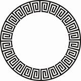 Aztec circular design