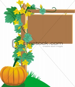 For sale sign (fall version)