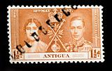 ANTIGUA - CIRCA 1937 - First Day Cover commonwealth postage stam