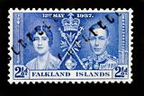 FALKLAND ISLANDS - CIRCA 1937 - First Day Cover commonwealth pos