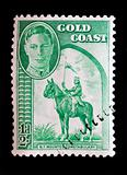 GOLD COAST - CIRCA 1948 - Definitive issue commonwealth postage