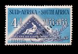 SOUTH AFRICA - CIRCA 1953 - Postage stamp commemorating South Af
