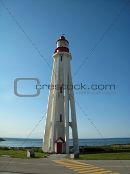 lighthouse in Rimouski, Quebec