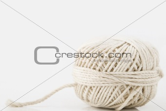 white ball of twine