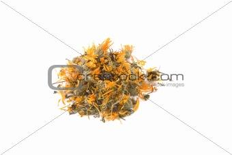 Calendula or marigold dry flower for tea