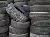 Old tire stack layers
