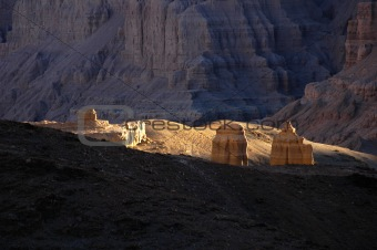 Landscape in west Tibet