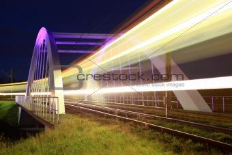 Bridge for light rails near Stuttgart