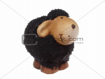Black easter sheep