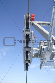 chairlift detail