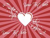 St. Valentine's day texture