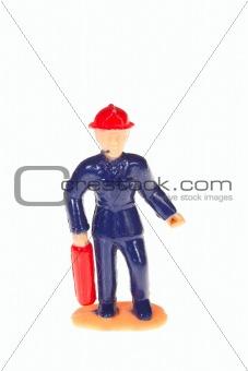 plastic fireman