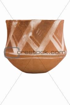 ancient ceramic bowl