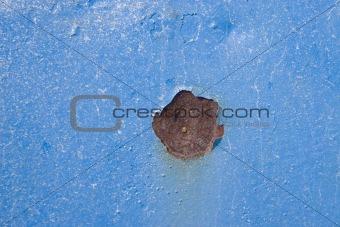 blue rusty textures