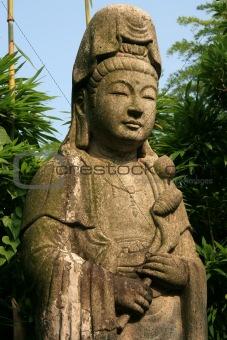 God Statue - Zojoji Shrine,Tokyo, Japan
