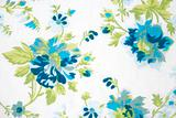 flower fabric texture, green plants