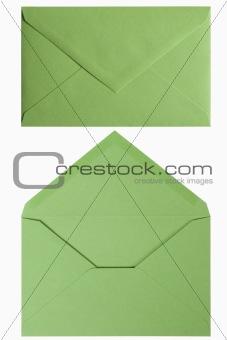green envelop