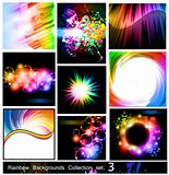 Rainbow Backgrounds Collection - Set 3