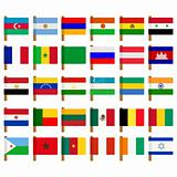 World flag icons set 2