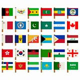 World flag icons set 3