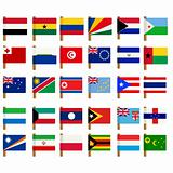 World flag icons set 4