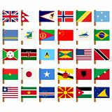 World flag icons set 5