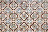 Vintage spanish style ceramic tiles