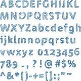 Sketched alphabet (vector)