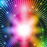 Rainbow abstract lights