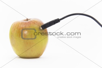 Apple plugged