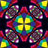 Kaleidoscope seamless pattern.