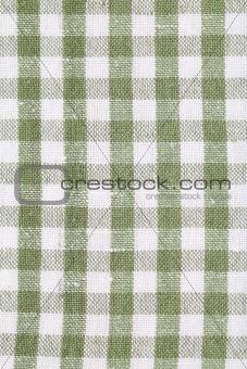 Green dish towel pattern