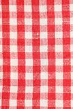 Red dish towel pattern