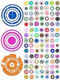 105 Vector Circle Elements